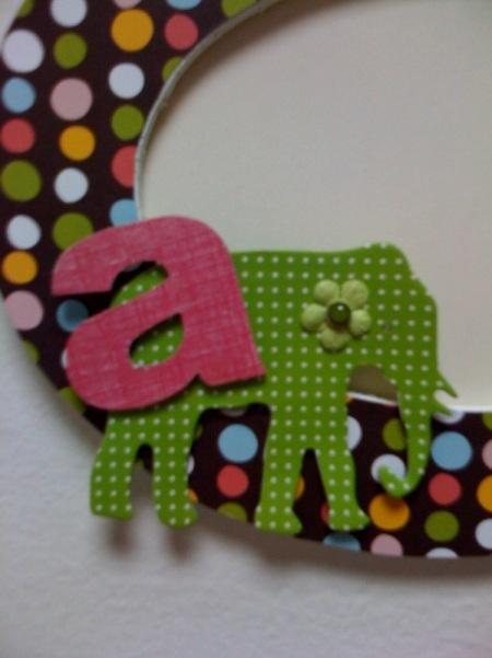 Ana's Frame Detail