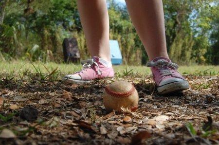 Baseball and Converse