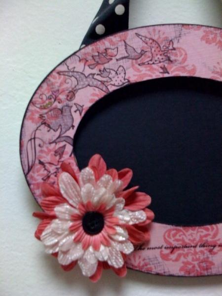 Kristel's Frame Detail
