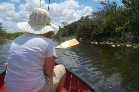 Me in the Canoe