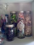 Prima Floral Embellishment Jars