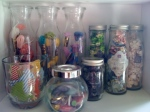 Glass Jars for Floral Embellishments