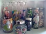 Glass Jars for Floral Embellishments